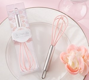'The Perfect Mix' Pink Kitchen Whisk image