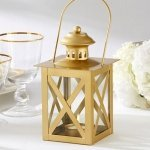 Classic Gold Tea Light Lanterns