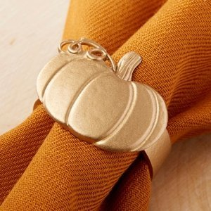 Pumpkin Napkin Ring (Set of 4) image