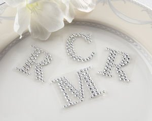 Jeweled Monogram Letters (Set of 24) image