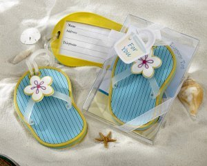Flip-Flop Luggage Tag Favor image