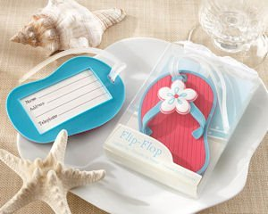Flip-Flop Beach Themed Luggage Tags image