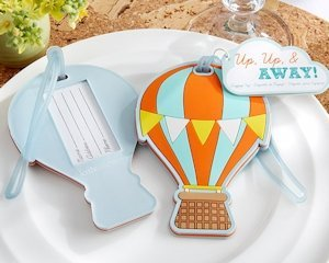 Hot Air Balloon Luggage Tag Favor image