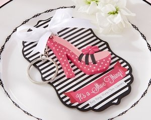 Pretty in Pink High Heel Keychain image