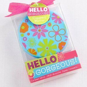 Just Girls 'Hello Gorgeous' Compact Mirror Favors image