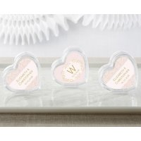 Modern Romance Heart Favor Container (Set of 12)