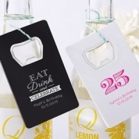 Personalized Birthday Party Favor Bottle Openers