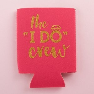 I Do Crew Insulated Drink Sleeves (Set of 4) image