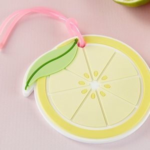 Lemon Slice Luggage Tag