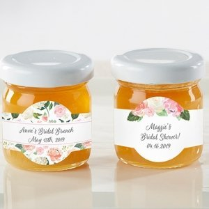 Personalized Bridal Brunch Honey Jar (Set of 12) image