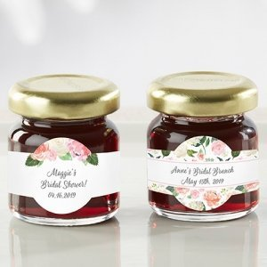 Personalized Bridal Brunch Strawberry Jam (Set of 12) image