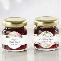 Personalized Bridal Brunch Strawberry Jam (Set of 12)