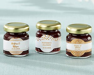 Personalized Strawberry Jam - Copper Foil (Set of 12) image