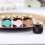Personalized Wedding Design Strawberry Jam Favor (Set of 12)
