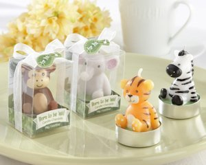 Born to be Wild Baby Animal Candle Favors (Set of 4) image