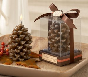Falling for You Scented Pine Cone Candle (Set of 4) image
