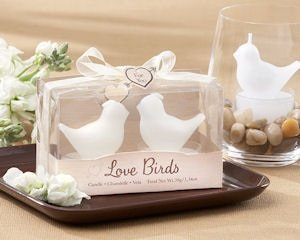 Love Birds Favors Tea Light Candles image