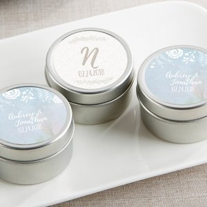 Personalized Ethereal Travel Candle Favors image