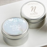 Personalized Ethereal Travel Candle Favors