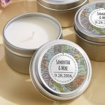 Personalized Travel & Adventure Design Travel Candle