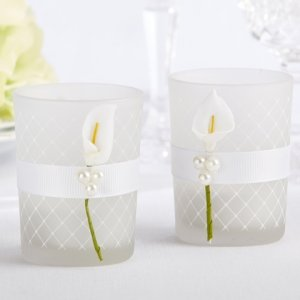 Lovely Calla Lily Tealight Holder (Set of 4) image
