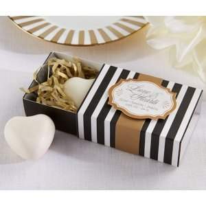 Classic Heart Scented Soap Favors image