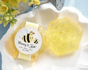 'Mommy To Bee' Honey-Scented Honeycomb Soap image