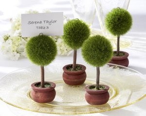 Topiary Place Card Holders (Set of 4) image