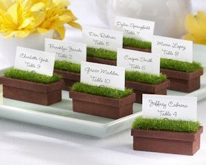 Evergreen Window Planter Place Card Holders (Set of 4) image