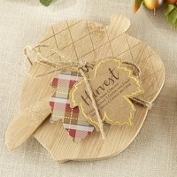 Acorn Shaped Cheeseboard and Spreader