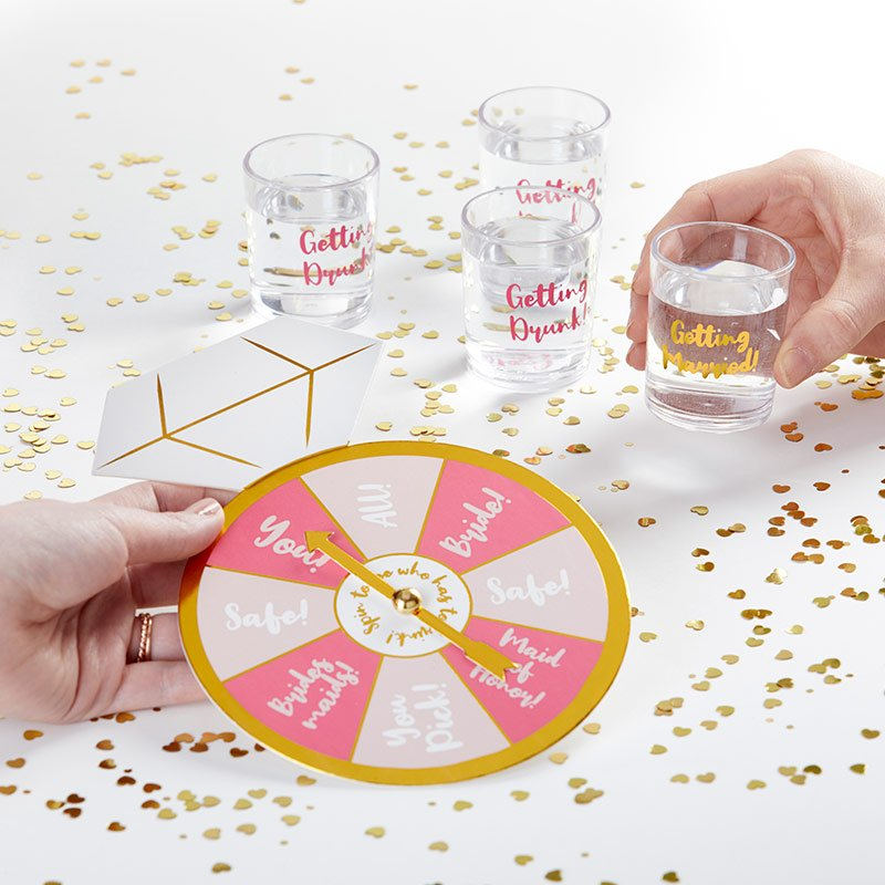 Sip & Spin Bachelorette Party Game image