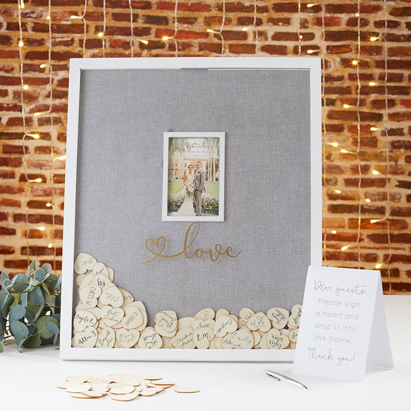 Wedding Guest Book Alternative - Frame image