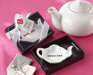 'Swee-Tea' Ceramic Tea Bag Caddy image