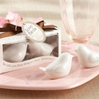 Love Birds Salt and Pepper Shakers Wedding Favors