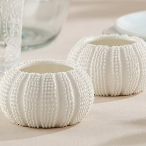 Sea Tidings Sea Urchin Tealight Holders (Set of 2) image