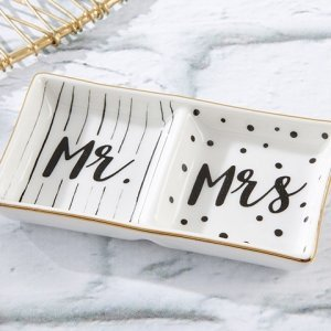 Mr. and Mrs. Ring Dish image