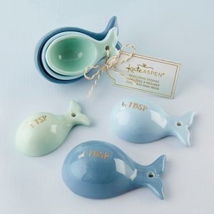 Ceramic Whale Shaped Measuring Spoons image