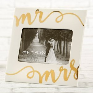 Ceramic Mr. & Mrs. Frame image