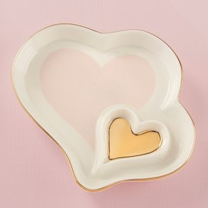 Double Heart Trinket Dish image