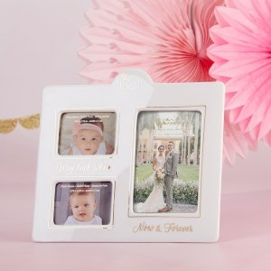 Now & Then Ceramic Photo Frame image