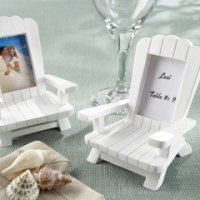 Mini Adirondack Beach Chair Place Card Frames (Set of 4)