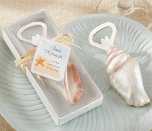 Shore Memories Seashell Bottle Opener Wedding Favors image