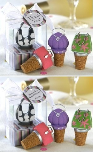 So Pretty Miniature Purse Bottle Stoppers (Set of 4) image