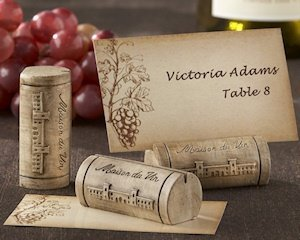 Wine Cork Place Card Holders (Set of 4) image