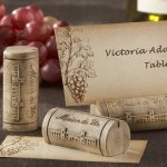 Wine Cork Place Card Holders (Set of 4)