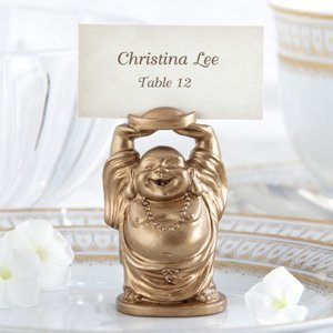 Golden Buddha Place Card Holders (Set of 4) image