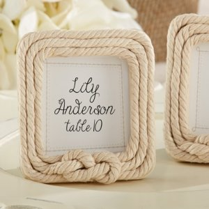 Tied with Love Rope Frame Favors image