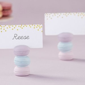 Macaroon Place Card Holder (Set of 6) image
