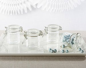 DIY Glass Favor Jar Favors (Set of 12) image