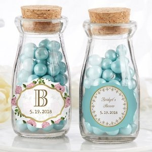 Personalized Tea Time Milk Jar (Set of 12) image